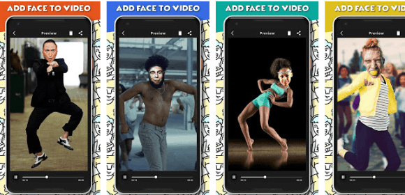 Add Face In Video - Funny Face Video Maker