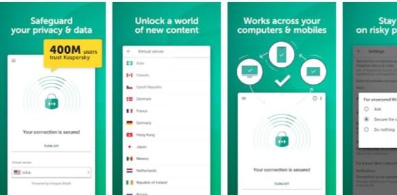 Kaspersky VPN Secure Connection