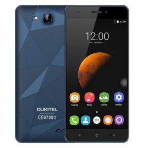 Oukitel C3 Android 6.0 smart phone features