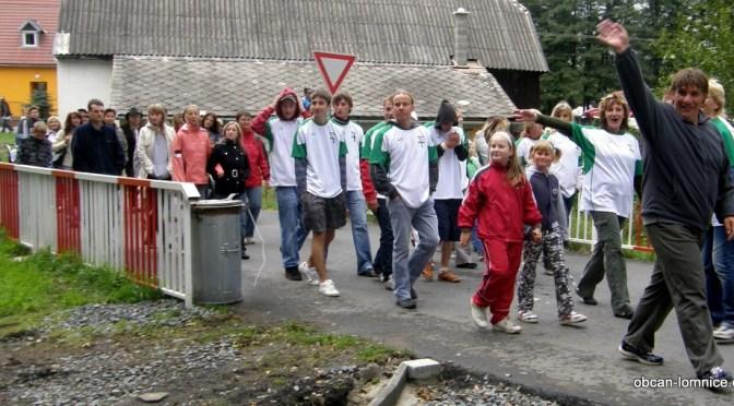 Den obce Lomnice 2009