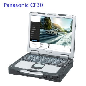 Piwis tester 2 with Panasonic CF30 J2534 for Porsche