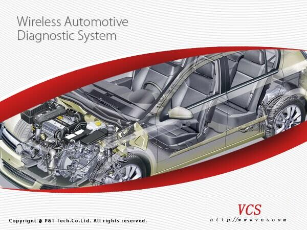 Super VCS Wireless Compact Diagnostic Partner(VCS+VDM 2 In 1)