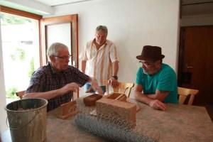 Die Herstellung der Steine