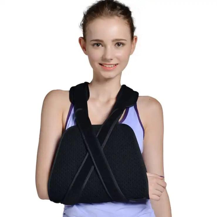 27/5000 Arm fracture sling shoulder dislocation breathable fixation band elbow elbow forearm sling shoulder brace Ober Braces
