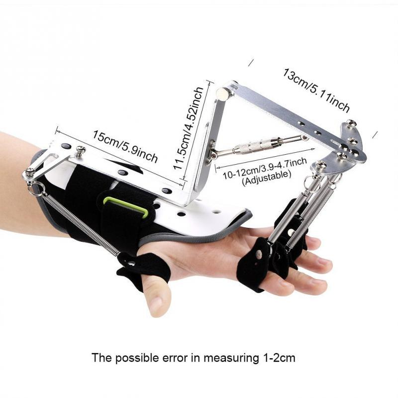 Adjustable Finger Wrist Orthotics Rehabilitation Trainer Wrist Brace Ober Health 4