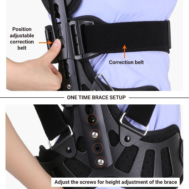 Modern Corrective Scoliosis Brace for Kids and Adults Back Brace Ober Health 4