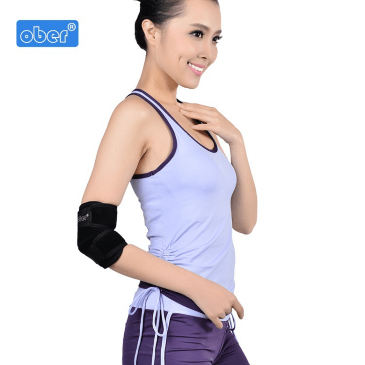 Elbow protector men's and women's fitness basketball elbow protector breathable and comfortable elbow fixation elbow joint protector shoulder brace Ober Braces