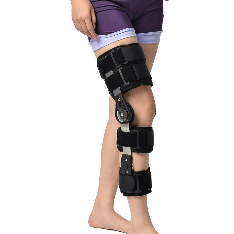 Hinged ROM Knee Support Brace Orthosis for Knee Injury Recovery & Relieve Knee Burden knee brace Ober Braces