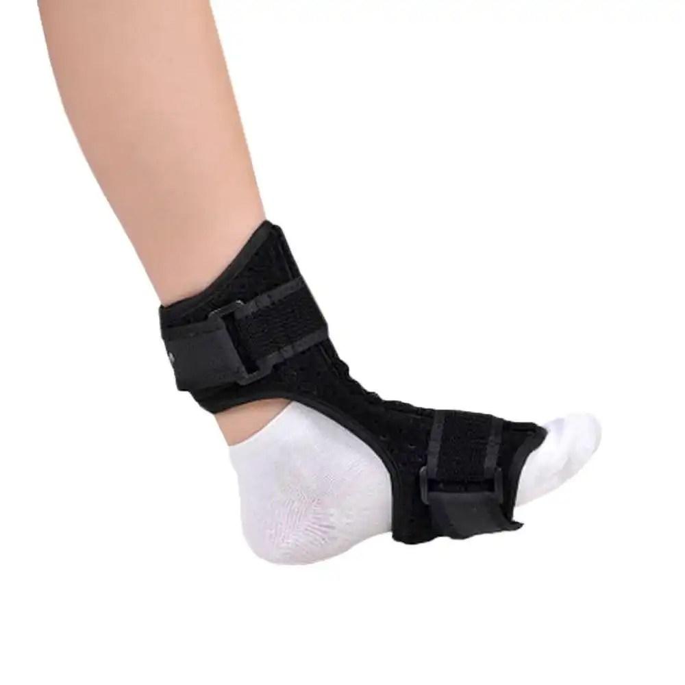 Ober Medical Foot Drop Orthosis Support Nightime Brace Dorsal Aluminum Splint Plantar Fasciitis Ankle Sprain Achilles Tendinitis foot brace Ober Braces
