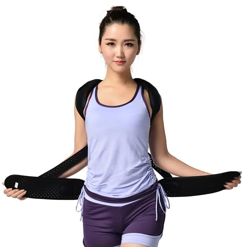 Posture Corrector for Hunched back, Kyphosis and Vertebral Compression Fracture Back Brace Ober Health 4