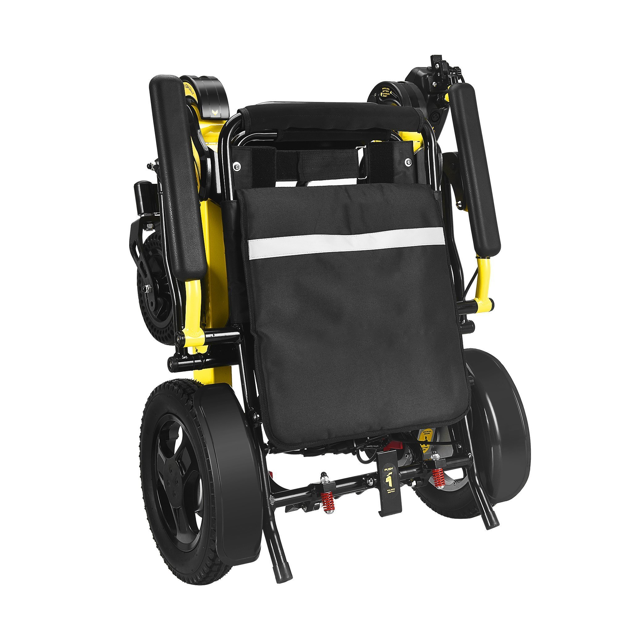 Foldable Sturdy Dual Motorized Powerful Electric Wheelchair Mobility Aids Ober Health 3
