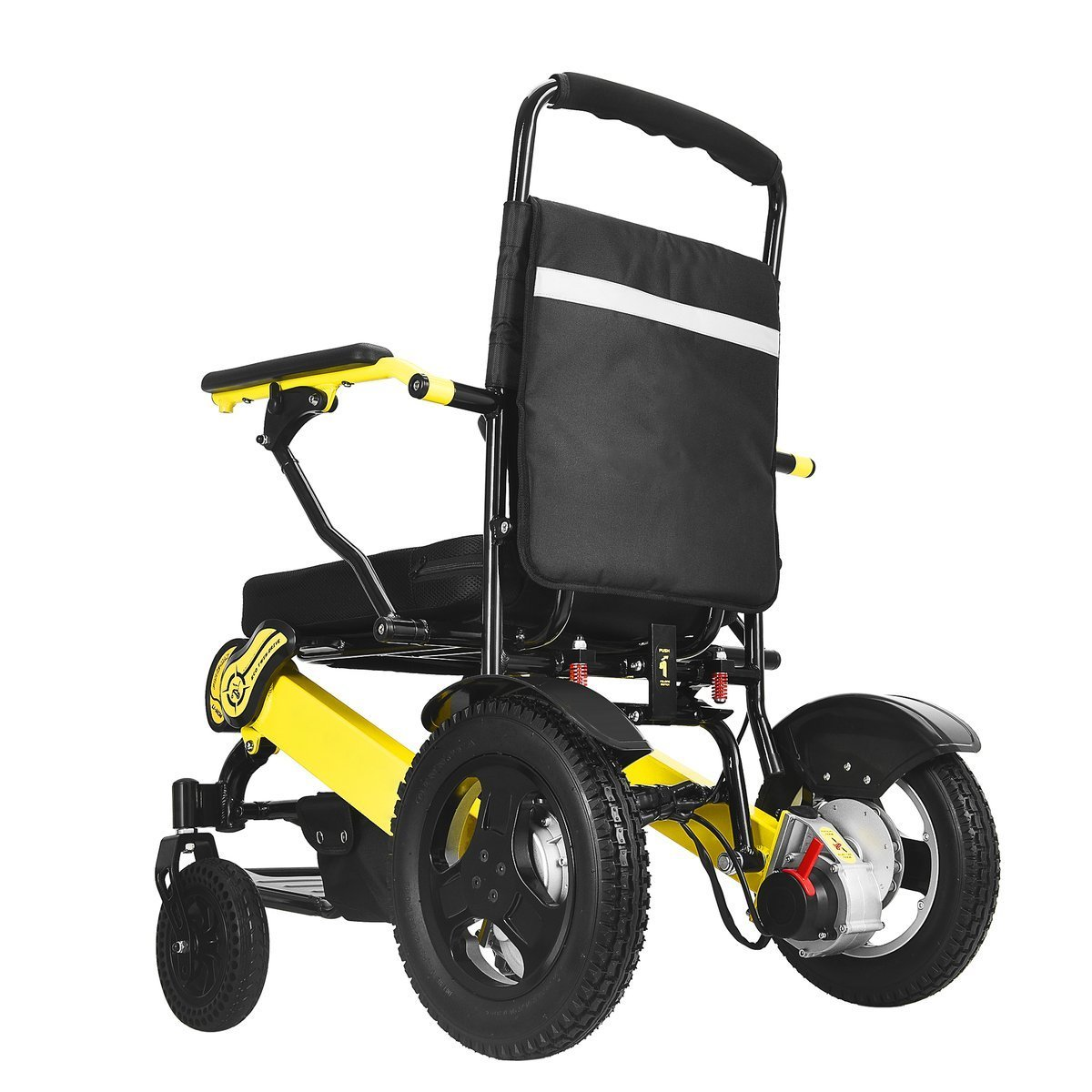 Foldable Sturdy Dual Motorized Powerful Electric Wheelchair Mobility Aids Ober Health 6