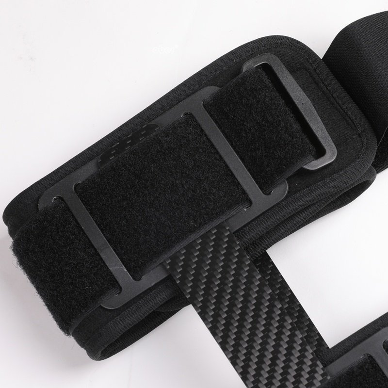 Carbon Fiber Knee Brace Support For ACL PCL MCL Hinged Knee Braces Ober Health 5