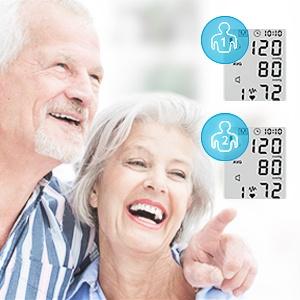 Blood Pressure Monitor LCD Display Adjustable Wrist Cuff Blood Pressure Monitors Ober Health 25