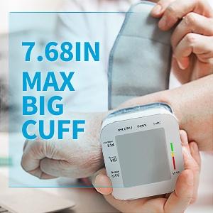 Blood Pressure Monitor LCD Display Adjustable Wrist Cuff Blood Pressure Monitors Ober Health 26
