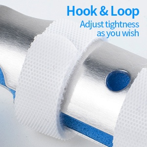 Aluminum Finger Splint, Teroys Metal Finger Support Brace Wrist Brace Ober Health 13