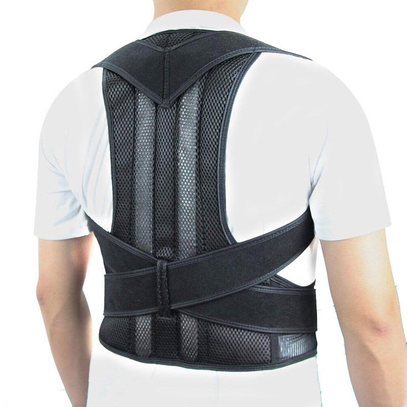 Unisex Adjustable Posture Corrector For Shoulder, Upper Back And Lumbar Support Back Brace Ober Health
