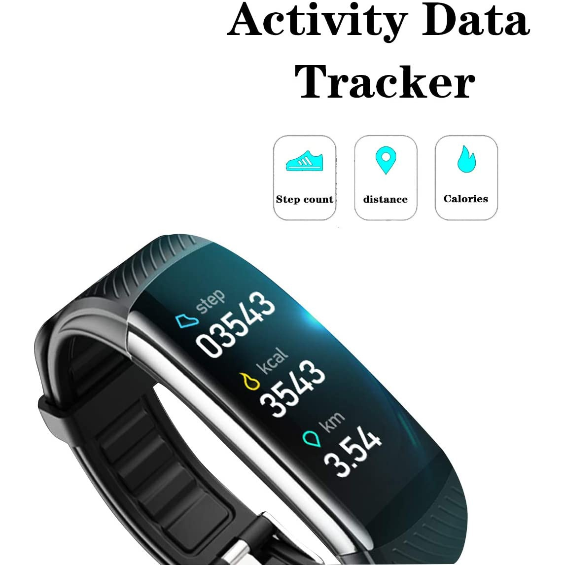 Fitness Tracker with Body Temperature Blood Pressure Oxygen Heart Rate Sleep Monitor Heart Monitors Ober Health 6
