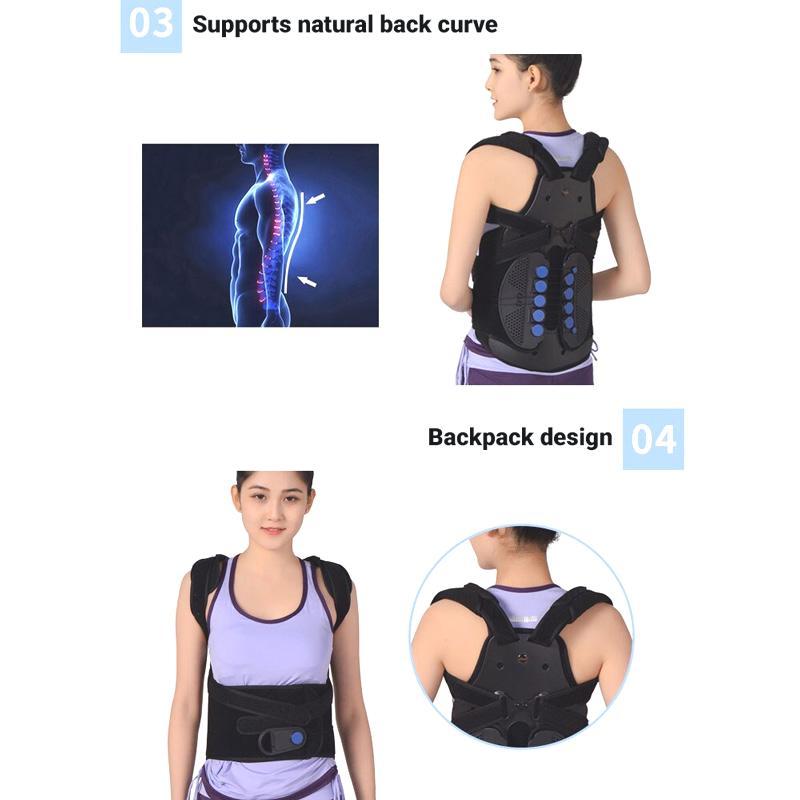 TLSO Back Brace for Compression Fractures, Osteoporosis, Upper Spine Injuries Back Brace Ober Health 4
