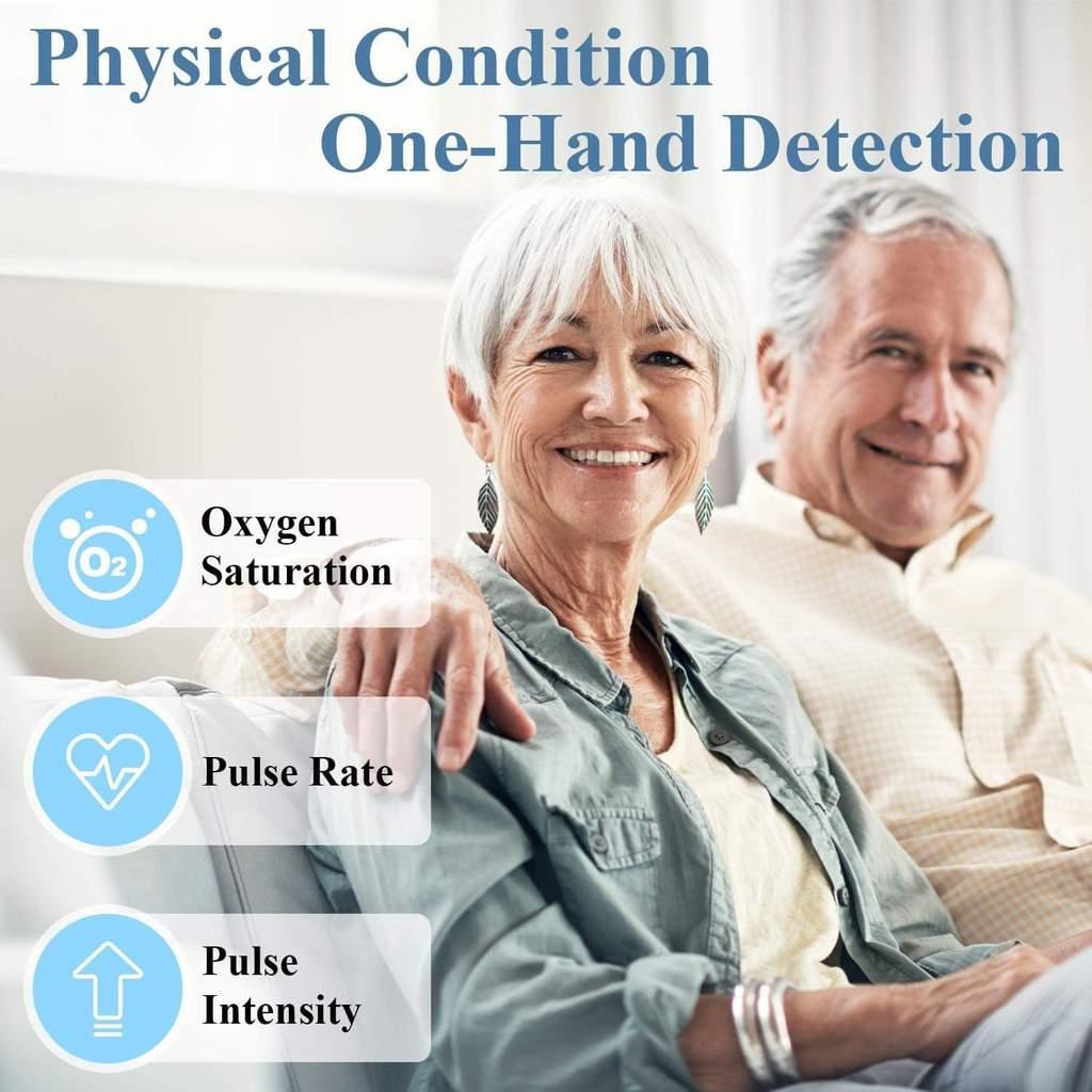 Fingertip Pulse Oximeter & Blood Oxygen Saturation Monitor Pulse Oximeters Ober Health 9