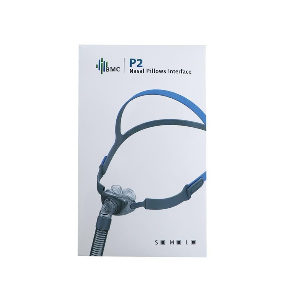 BMC P2 Nasal Pillow Mask with Headgear CPAP Masks Ober Health 2