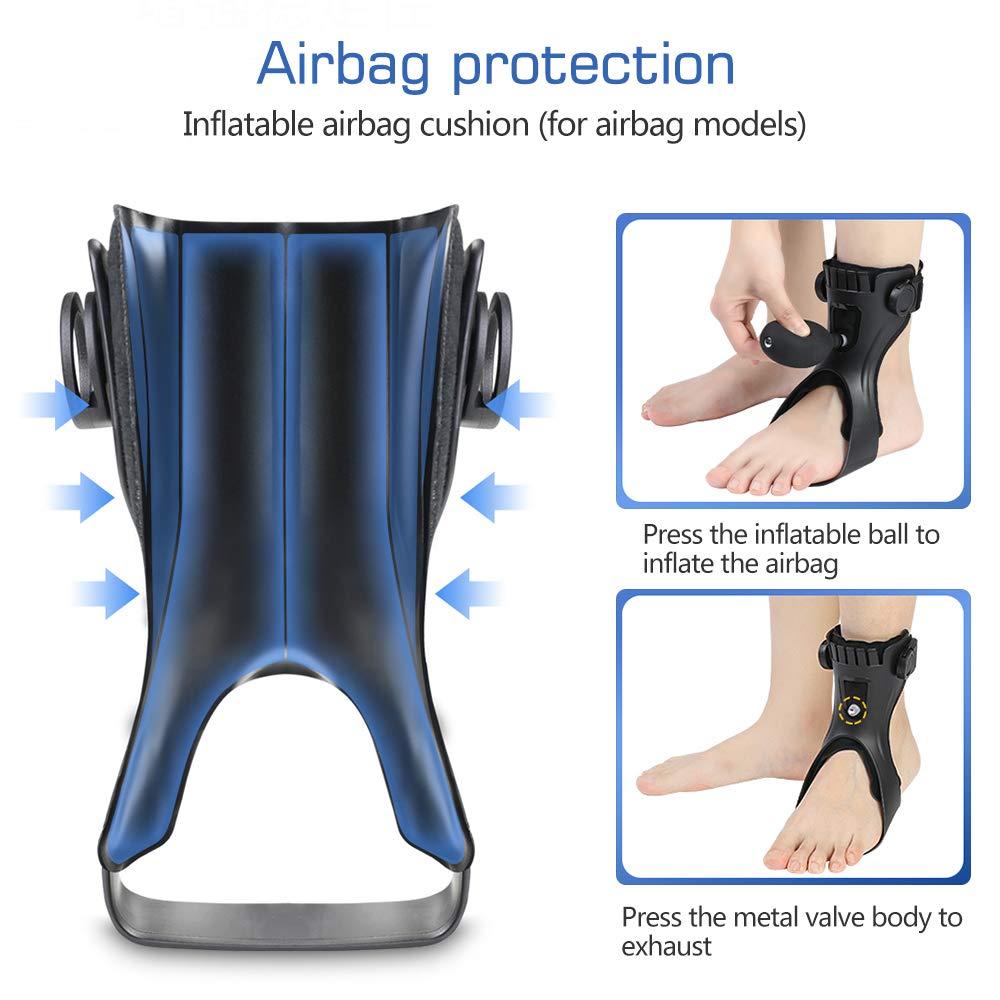 Drop Foot Brace Afo Splint, Ankle Foot Orthosis Support Foot Brace Ober Health 6