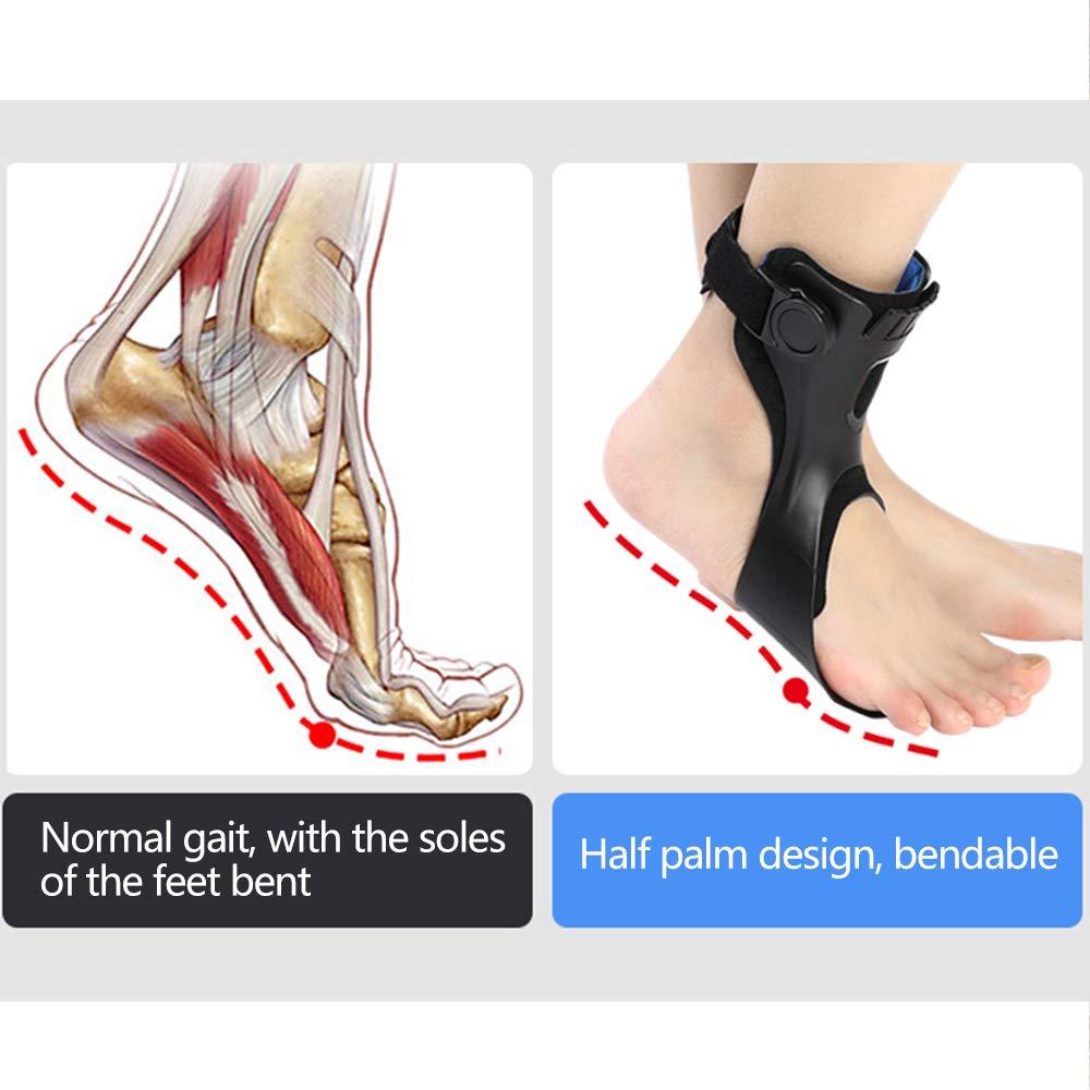 Drop Foot Brace Afo Splint, Ankle Foot Orthosis Support Foot Brace Ober Health 8