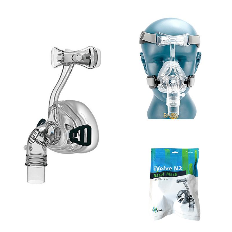BMC NM2 Nasal Mask with Headgear CPAP Masks Ober Health