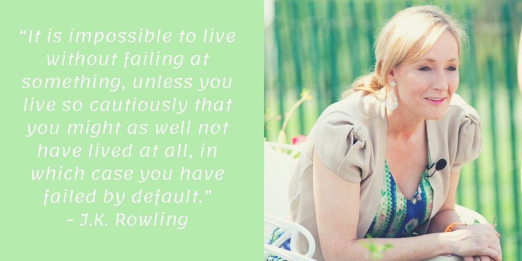 Famous Failures J.K. Rowling