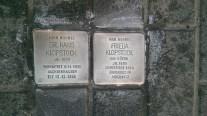 Stolpersteine Dr. Hans & Frieda Klopstock