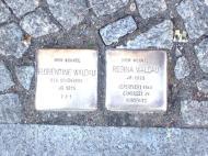 Stolperstein für Florentine & Regina Waldau