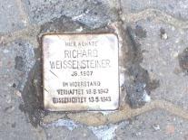 Stolperstein für Richard Weissensteiner