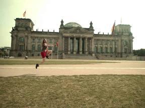 Sprung in den Bundestag