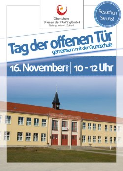 Oberschule Briesen_Tag der offenen Tür am 16. November 2019