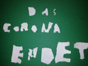 Schrift-ohne-Stift_Corona-Ende-auf-Papier