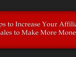 increase affiliated income sales