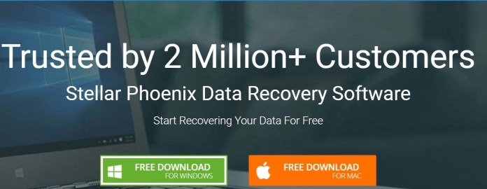 stellarinfo free data recovery or recover deleted files