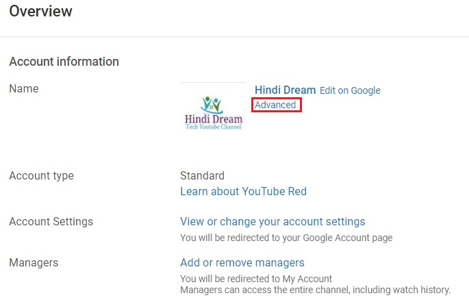 How Can I transfer youtube channel to another account Step