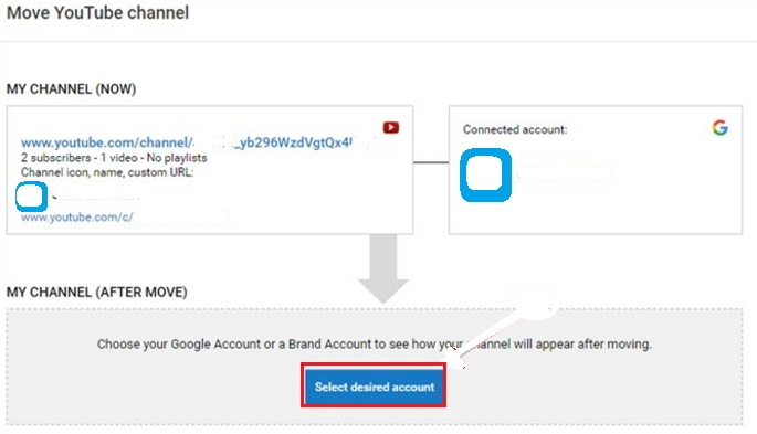 transfer your youtube channel hindi