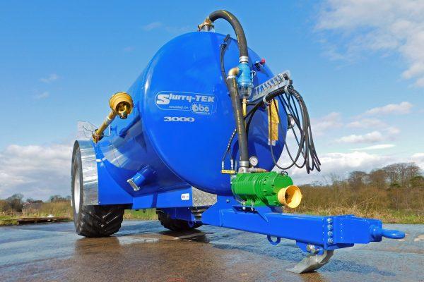 Slurry-TEK low centre gravity tanker