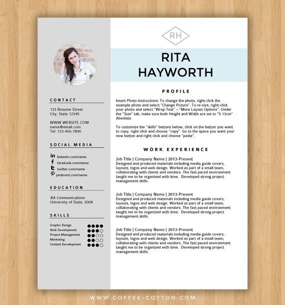 Resume Templates For Word - Resume Sample