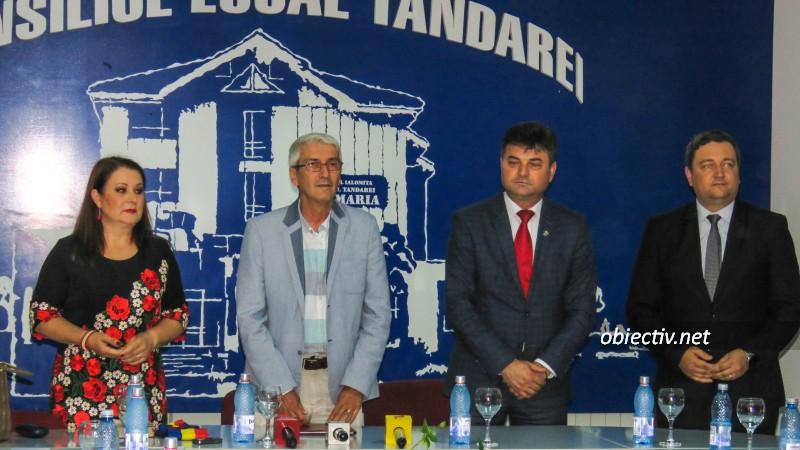 Noul primar al orașului Țăndărei, Toma Nicoleta, a depus jurământul