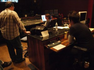Recording Manian in Studio D at Blackbird Studios in Nashville, TN