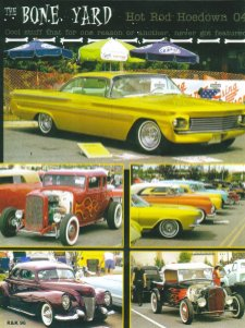Here's a shot of Obie's Coupe in Traditional Rod & Kulture Magazine Issue #2 striking a pose at The Hot Rod Hoedown in Kahunaville in September of 2006! Thanks @Kobbie's Klubhouse