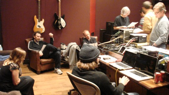 Some of the best players in the business. Recording in Studio D at Blackbird Studios, Nashville TN