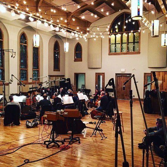 Recording at Castle Recording Studios in Nashville