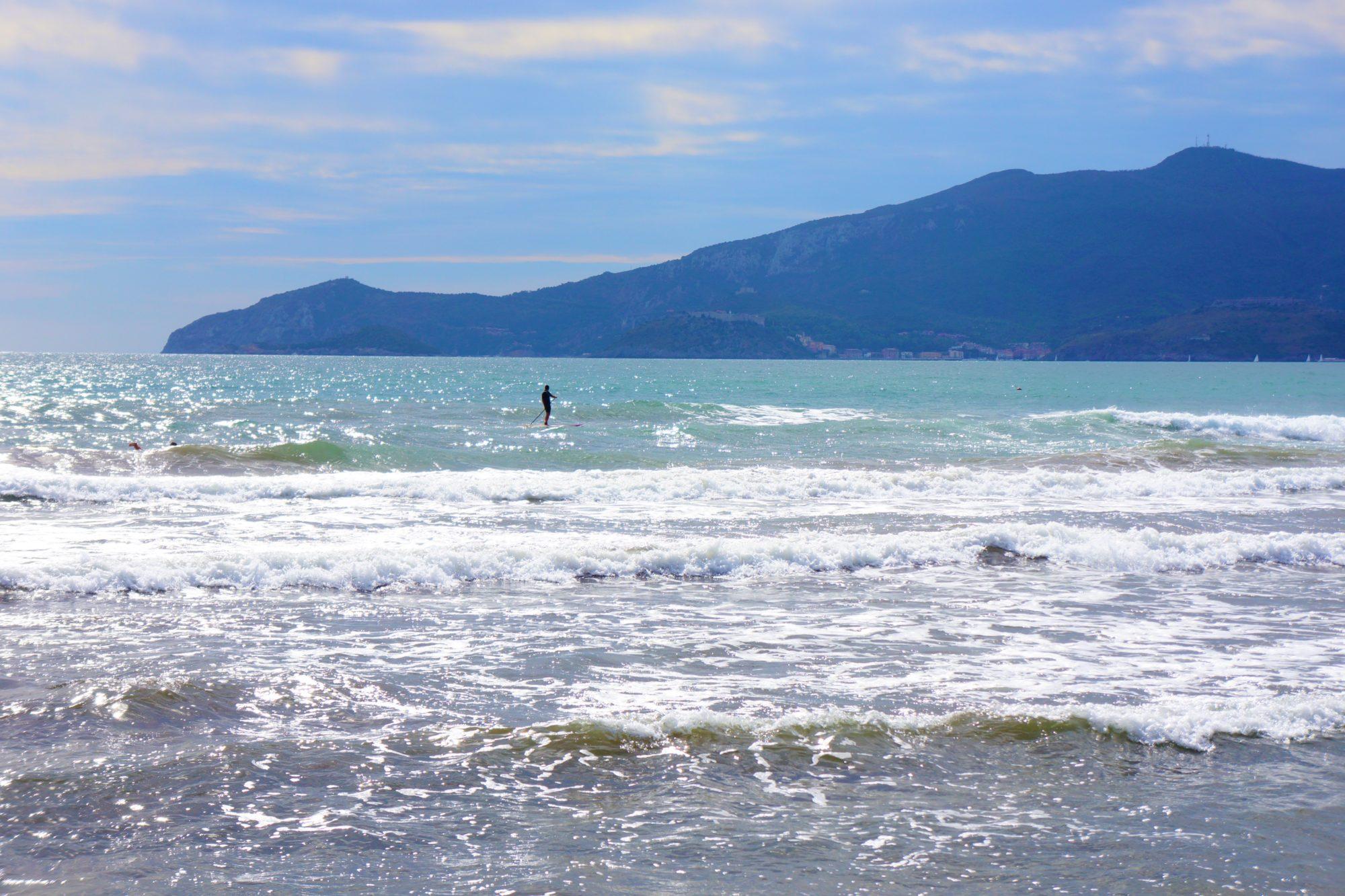 wlochy toskania wybrzeze morze tyrrenskie