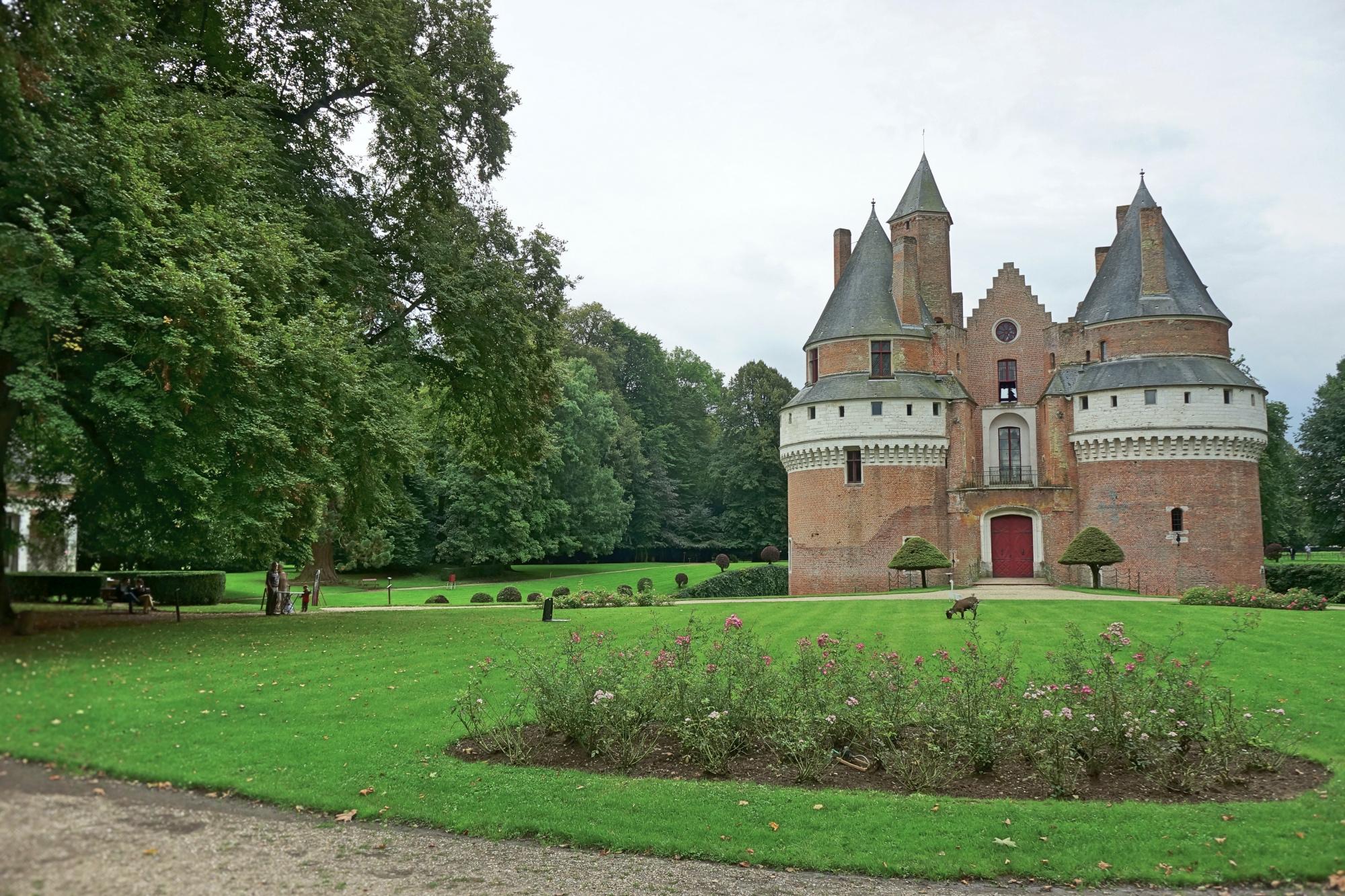 francja polnocna pikardia rambures zwiedzanie atrakcje zamek w rambures co zobaczyc we francji polnocnej