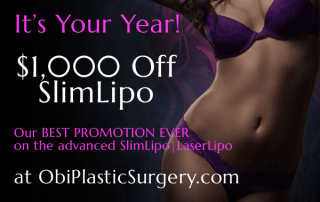 SlimLipo Special Promotion at Obi Plastic Surgery