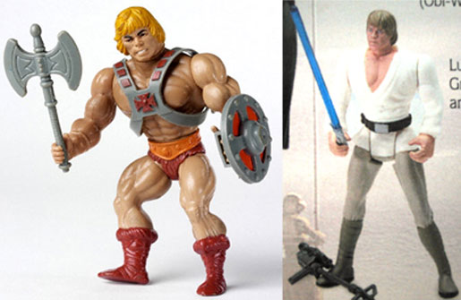 The first wave of action figures were noticeably bulkier than both their action figure predecessors and real life counterparts in a move to make them more appealing to the current generation of children.
